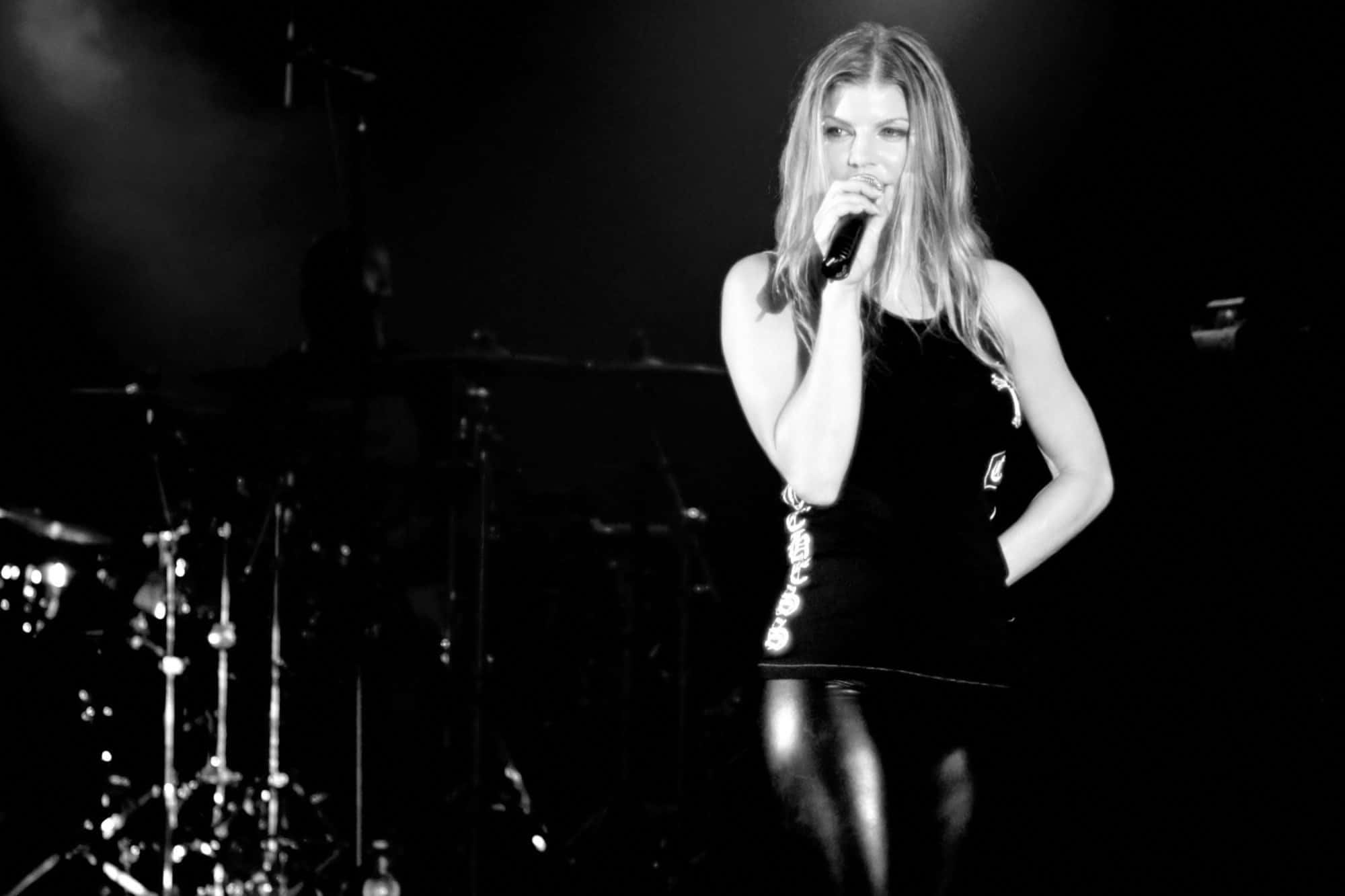 Concert Photography with Fergie - Black Eyed Peas