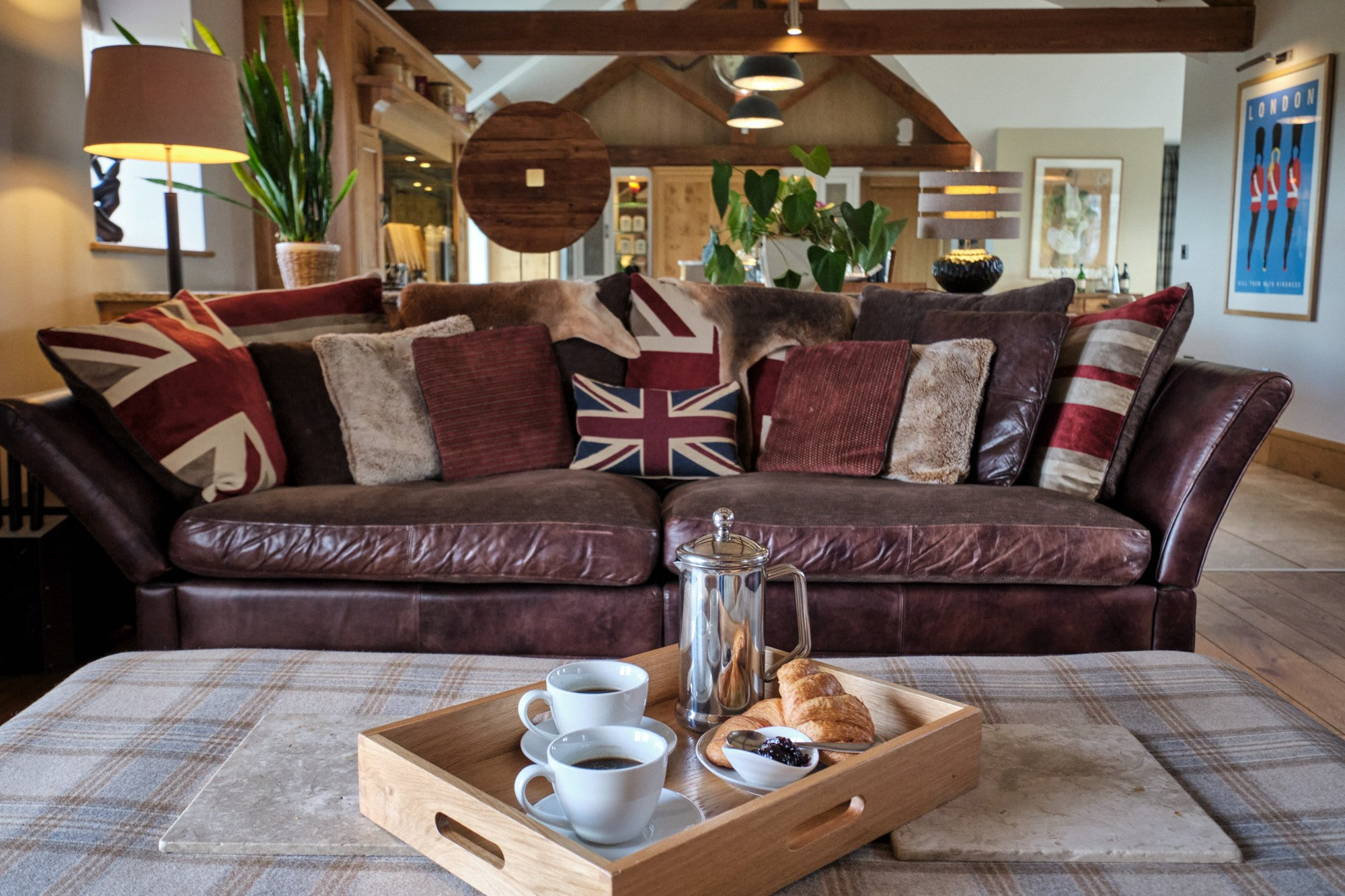A truly British home